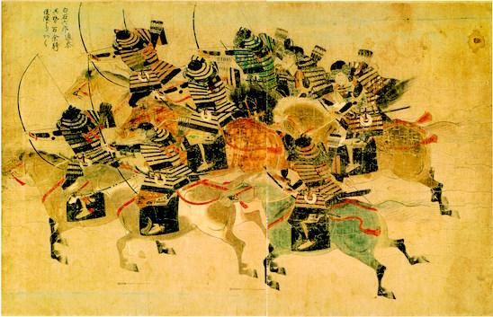 Samurai gained the power, Myōji arose